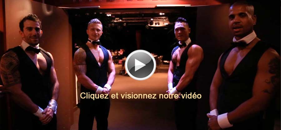 Spectacle Chippendales Striptease Passion Mens
